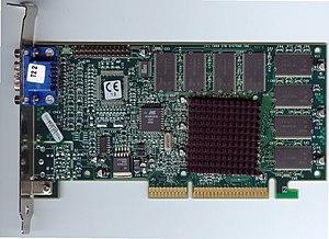 Graphics processing unit - Voodoo3 2000 AGP card