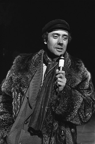 Victor Spinetti - Spinetti directing the premiere of Hair in Amsterdam, 1969