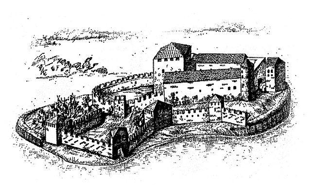 Выборгский замок в XV веке