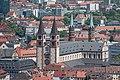 Würzburg, Dom, Ansicht von der Festung Marienberg 20170624 001.jpg