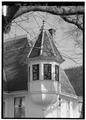 WEST TOWER, LOOKING NORTHWEST - John Calvin Owings House, 787 West Main Street, Laurens, Laurens County, SC HABS SC,30-LAUR,2-13.tif
