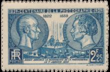Timbre Le 7 Janvier 1839 Arago Annonce La Dcouverte De Photographie