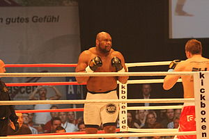 Bob Sapp - Sapp in a kickboxing match.