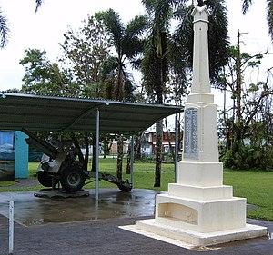 Babinda - World War 1 memorial, Babinda, 2006