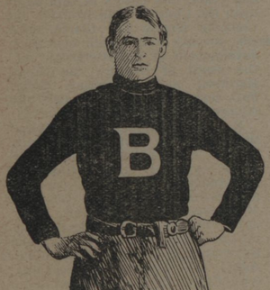 W. R. Ritchie - Sketch of W. R. Ritchie from The Lariat, Baylor newspaper