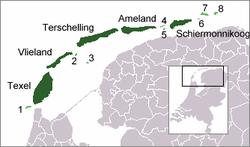 Westfriesische Inseln Reiseführer Auf Wikivoyage