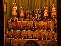 Waidhofen an der Ybbs - volkskundliche Sammlung Piaty - aus Wachs gefertigte Heiligenfiguren.jpg