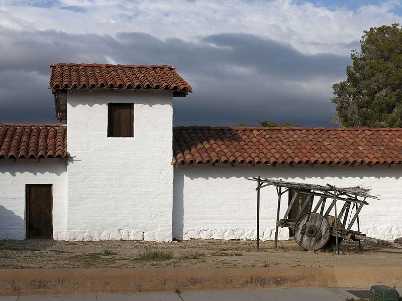 File:Wall of El Presidio Santa Barbara.jpg