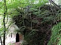 Wallace's Cave and location, Lugar Gorge, Auchinleck, East Ayrshire.jpg