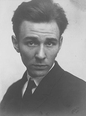 Walter Gramatté - Walter Gramatté (Minya Diez-Dührkoop,1929)