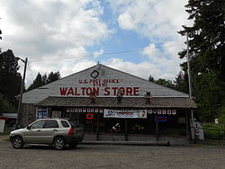 The post office and store at Walton