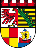 Das Wappen von Dessau-Roßlau