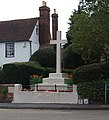 War Memorial, Teston - geograph.org.uk - 1521322.jpg