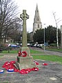 War memorial, 'Old' Corby - geograph.org.uk - 323638.jpg