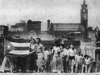 History of the Puerto Ricans in Holyoke, Massachusetts Puerto Ricans began settling in Holyoke, Massachusetts, US in the mid-1950s
