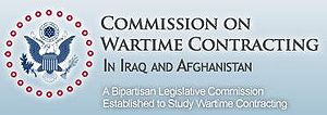 English: Logo of the Commission on Wartime Con...
