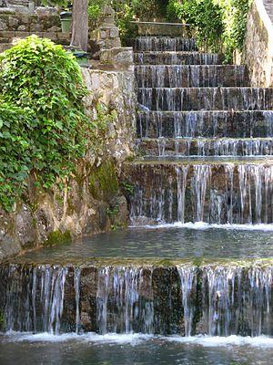 Caldas de Monchique - Waterfall in Caldas de Monchique