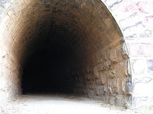 Waterval Boven - The original tunnel