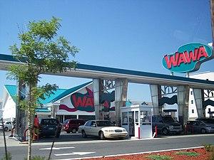 The Wildwoods - Doo-wop styled Wawa Food Market.