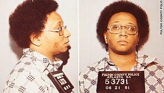Atlanta murders of 1979–81 - A mugshot of Wayne Williams taken after his arrest.