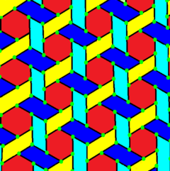 Weaved hexagonal tiling.png