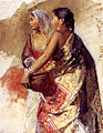 Weeks Edwin Sketch Two Nautch Girls.jpg