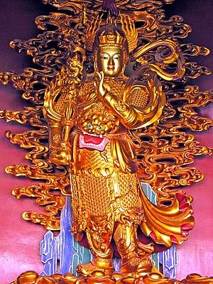 Skanda (Buddhism) - Image: Weituo, Yonghegong Lamsery, Beijing