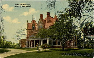 Daniel B. Wesson - Wesson Mansion, Springfield, Massachusetts