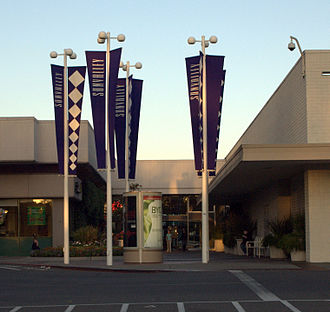 Sunvalley Shopping Center - West side Entrance