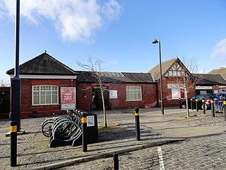 West Jesmond Metro station Tyne and Wear Metro station in Newcastle upon Tyne