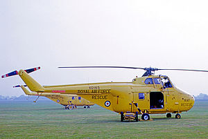 No. 202 Squadron RAF - Westland Whirlwind HAR.10 of 202 Squadron at RAF Coltishall in 1971