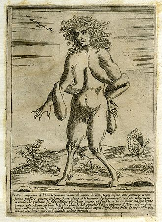 Wewe Gombel - The creature represented in this 16th-century Italian engraving is coincidentally looking a lot like the ghost of Indonesian folklore