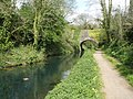 Whipcott Bridge, on the Grand Western Canal - geograph.org.uk - 1266623.jpg
