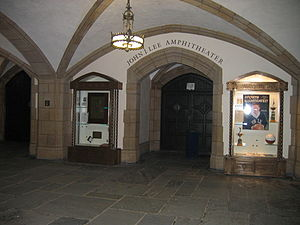 Payne Whitney Gymnasium - Entrance to Lee Amphitheater (2008)