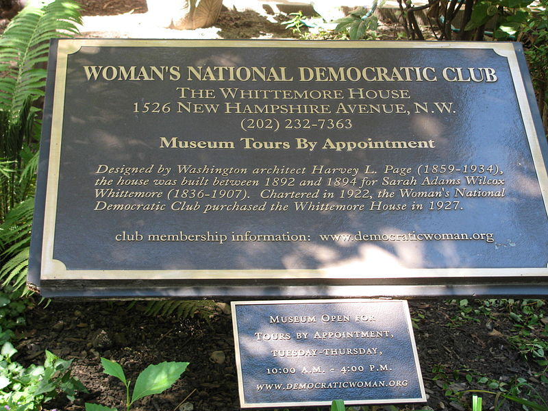 The Women's National Democratic Club