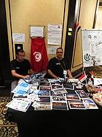 Wikimania 2018 - Community village (Day 1) 2.jpg