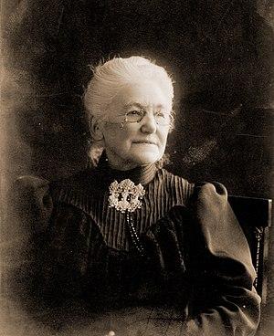 Carl Anton Bjerknes - Wilhelmine Dorothea Koren Bjerknes, wife of Carl Anton Bjerknes