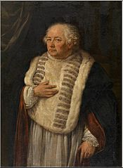 Portrait of the Antwerp canon Antoon de Vries