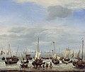 Willem van de Velde II - The Embarkation of Charles II at Scheveningen WLC WLC P194.jpg