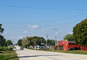 Willette, Tennessee - SR 56 in Willette