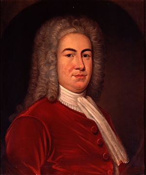 William Burnet (colonial administrator) - Portrait by John Watson