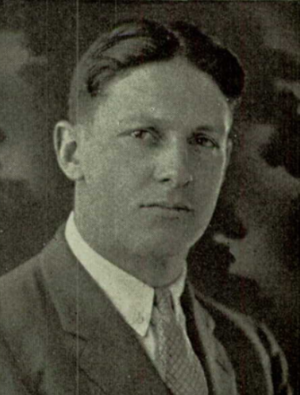 Bill Webster (American football) - Webster from 1924 Hotchkiss yearbook