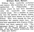 William Baker Rock (1872-1922) obituary in the New York Times on June 28, 1922.png
