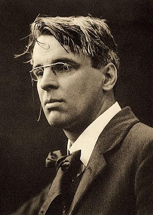 On being asked for a War Poem - Photograph of William Butler Yeats taken by Charles Beresford in 1911