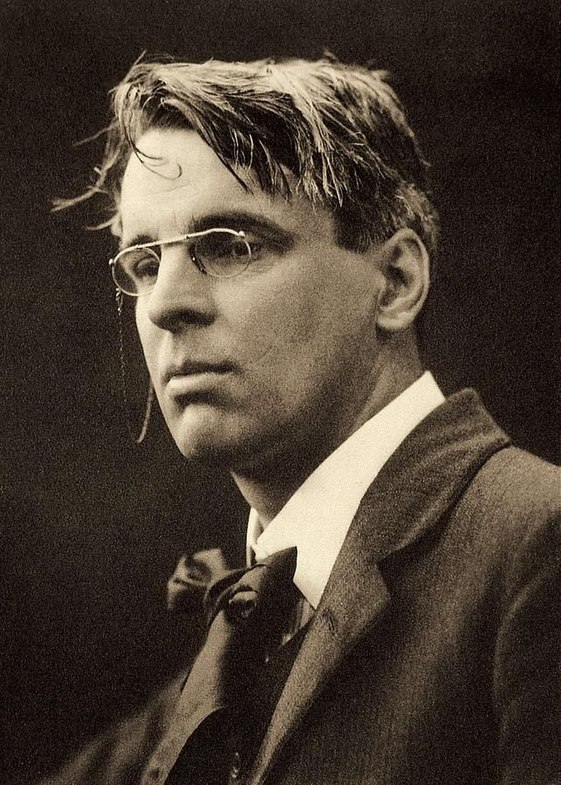 William Butler Yeats by George Charles Beresford