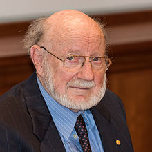 William C. Campbell, Nobelpristagare i medicin i Stockholm december 2015.