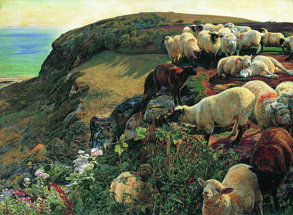 """Our English Coasts"" by William Holman Hunt – Joy of Museums"