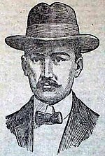 Bust Drawing of William Hooper Young from 1902 newspaper