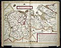 William Smith map of Lancashire 1598 Harley 6159 ff 3v-4.jpg
