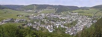 Willingen - Panorama of Willingen